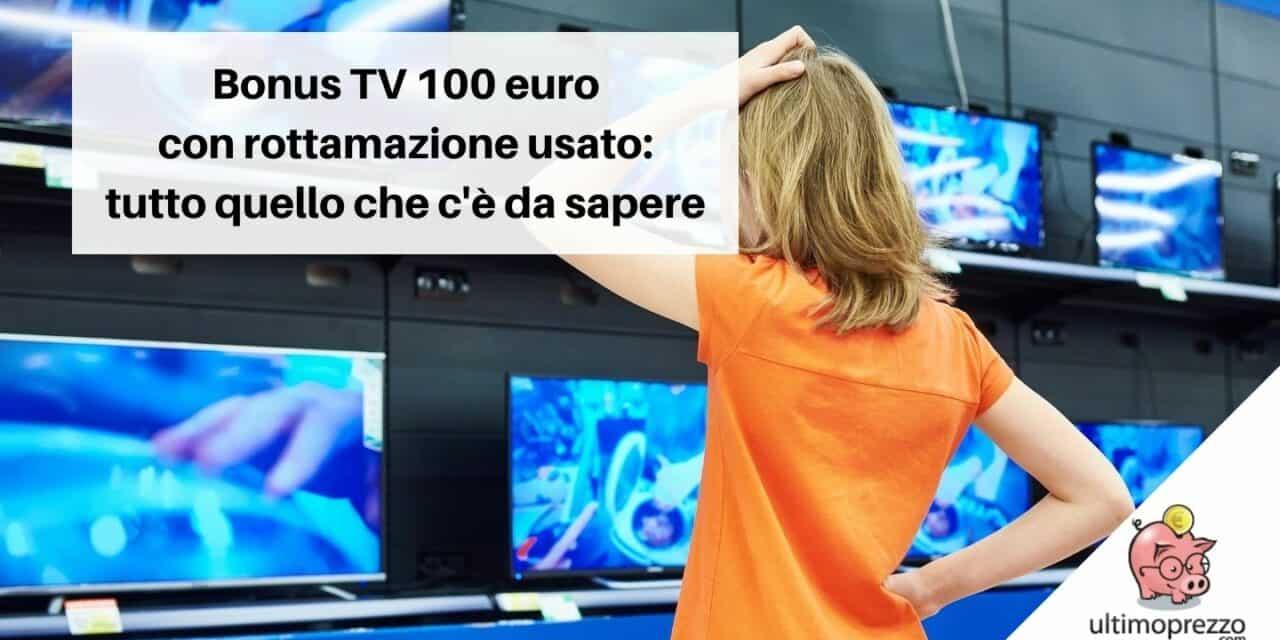 Bonus TV 100 Euro disponibile dal 23 agosto 2021: ecco come approfittarne!
