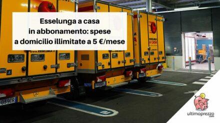 Da Esselunga spesa in abbonamento: per 5Euro/mese consegne illimitate, conviene?