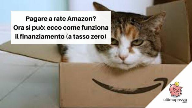 Pagare a rate Amazon? Ora si può: ecco come funziona il nuovo finanziamento (a tasso zero) per gli acquisti online