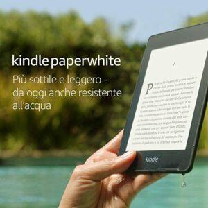 Amazon Kindle Paperwhite WIFI 8 GB SCHERMO 6″ con Pubblicità a 94,99 € invece di 129,99 €
