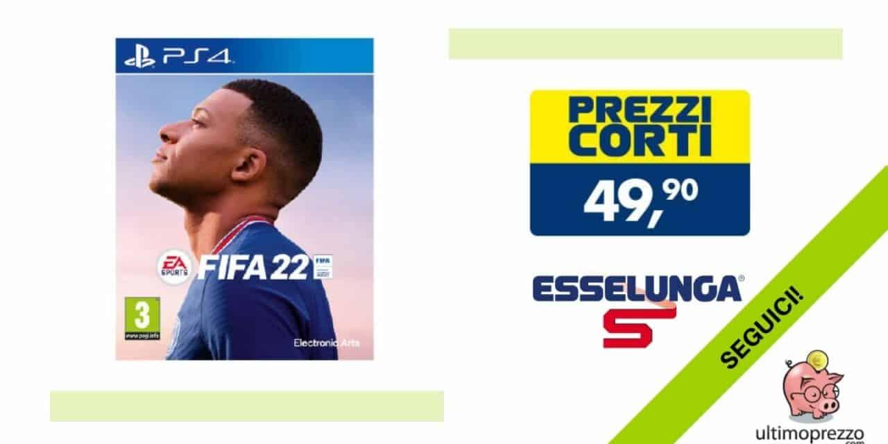 FIFA 22 in offerta, è già al miglior prezzo di sempre: ecco dove!