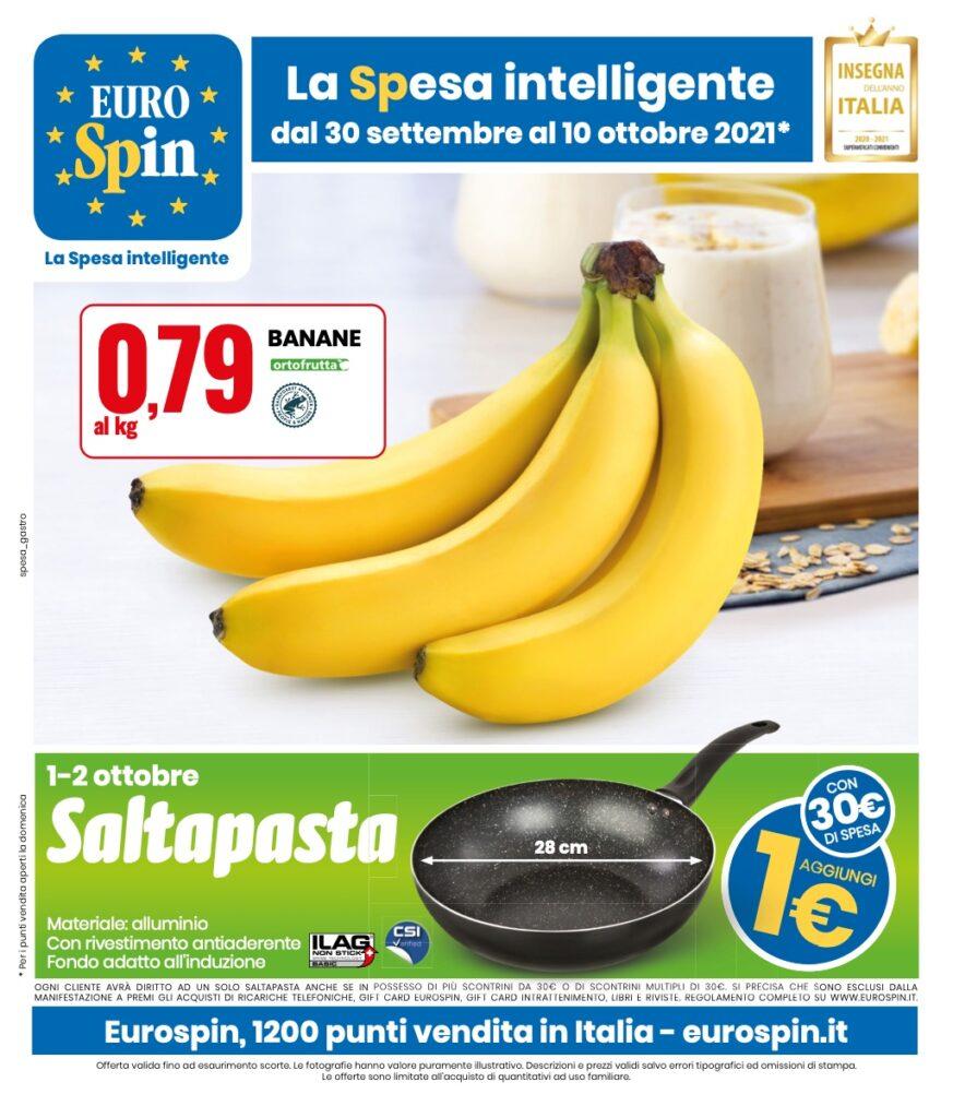 Volantino Eurospin 30 settembre 2021 pagina 01