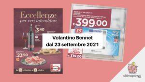 Volantino Bennet 23 settembre 2021