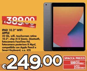 Apple iPad 2020 a 249 euro invece di 389