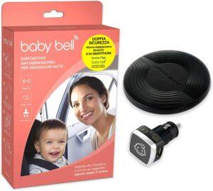 Dispositivo anti abbandono Steelmate Baby Bell a 9,99 euro invece di 69,90