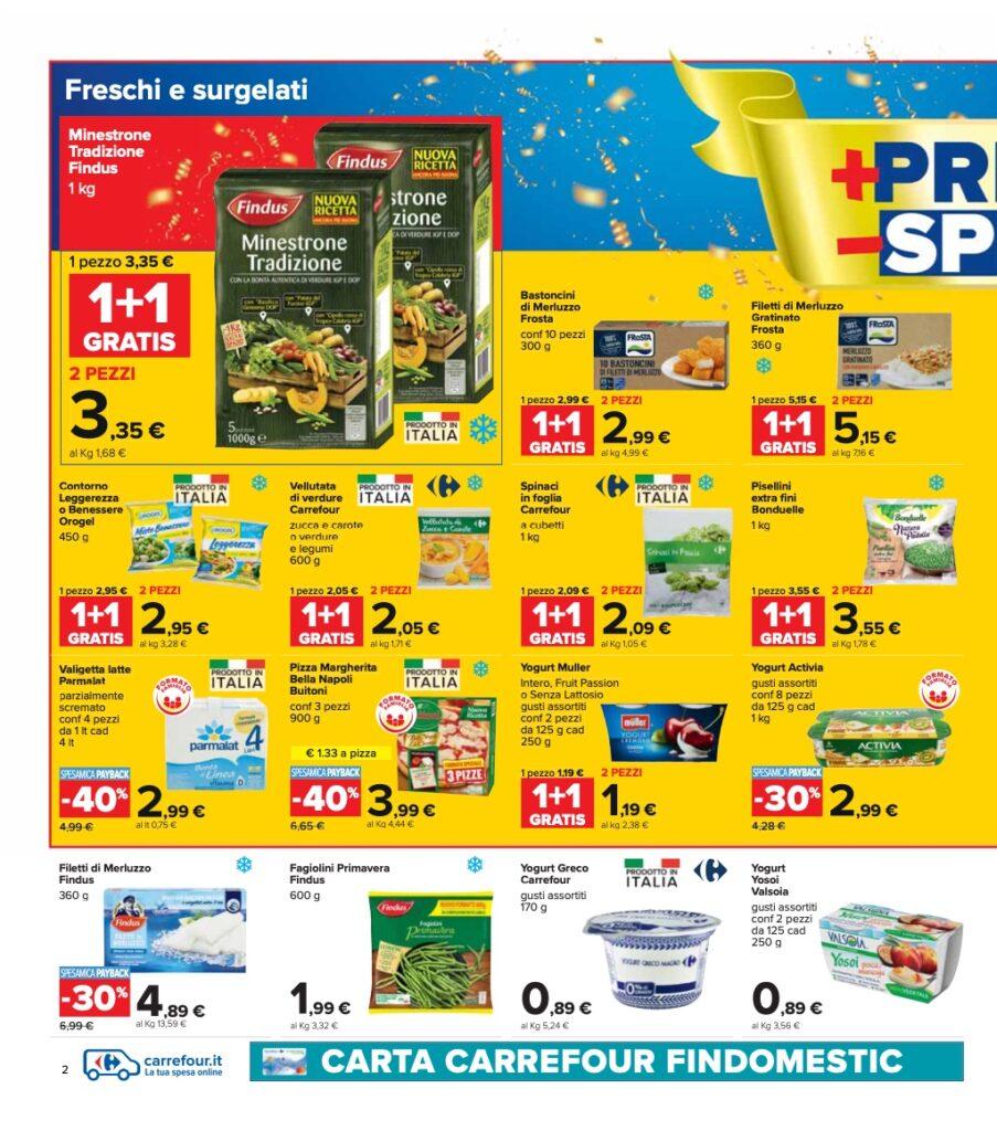 Volantino Carrefour 8 ottobre 2021 pagina 02