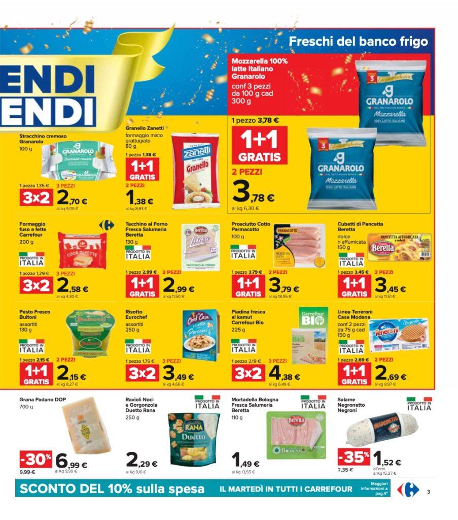 Volantino Carrefour 8 ottobre 2021 pagina 03