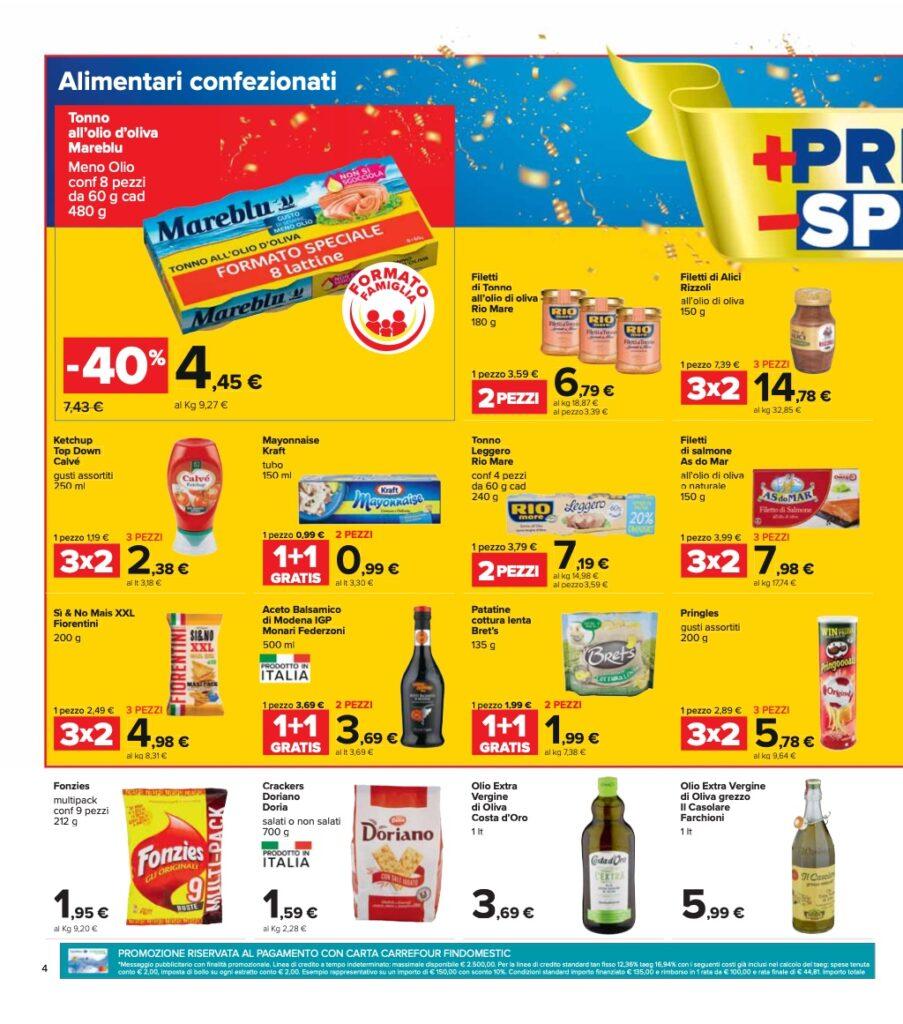 Volantino Carrefour 8 ottobre 2021 pagina 04