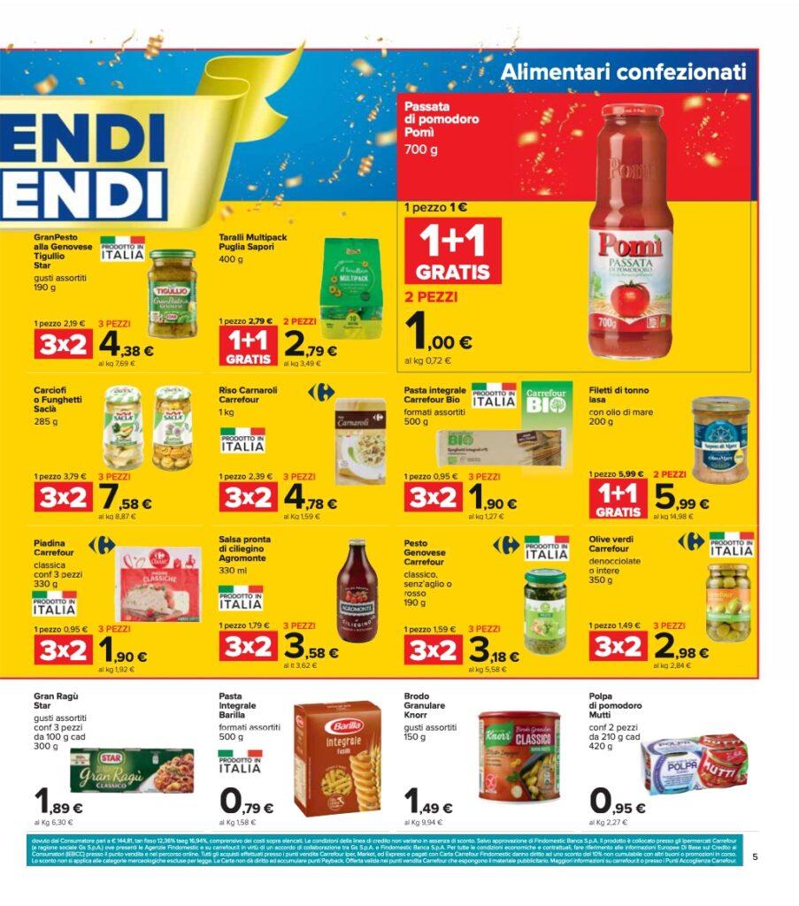 Volantino Carrefour 8 ottobre 2021 pagina 05