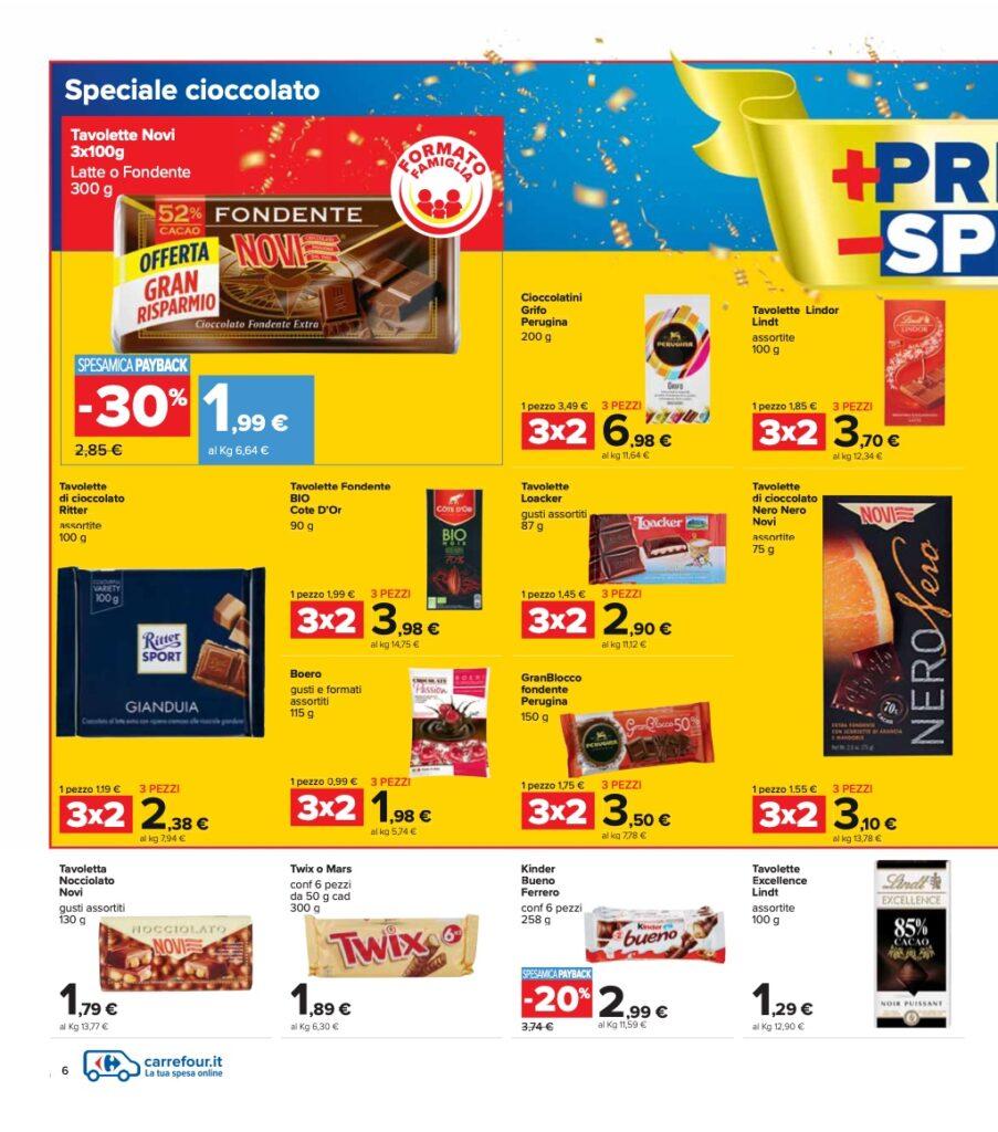 Volantino Carrefour 8 ottobre 2021 pagina 06