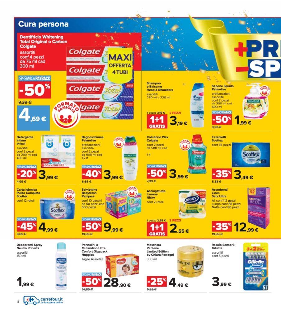 Volantino Carrefour 8 ottobre 2021 pagina 08