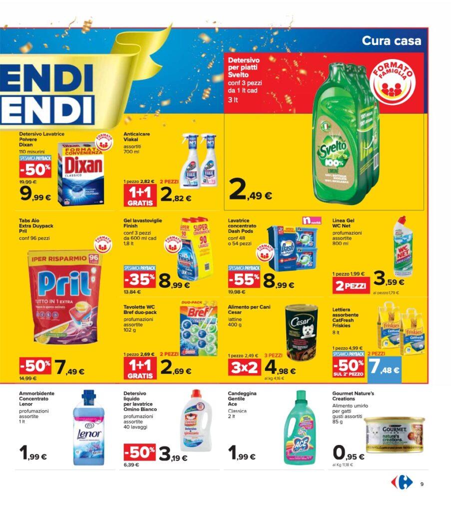 Volantino Carrefour 8 ottobre 2021 pagina 09
