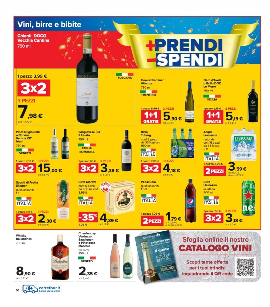 Volantino Carrefour 8 ottobre 2021 pagina 10