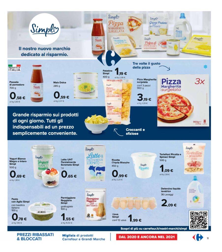 Volantino Carrefour 8 ottobre 2021 pagina 11