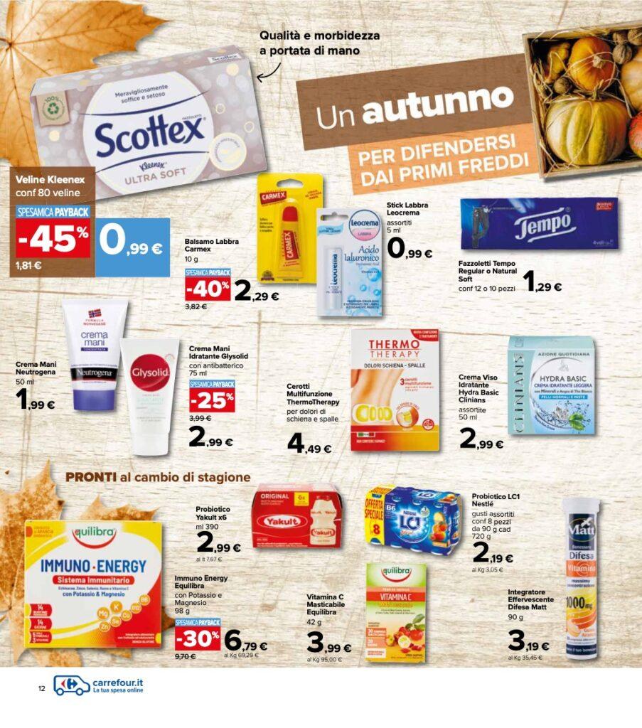 Volantino Carrefour 8 ottobre 2021 pagina 12