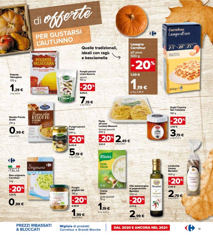 Volantino Carrefour 8 ottobre 2021 pagina 13
