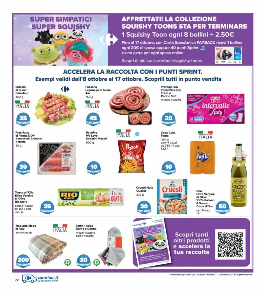 Volantino Carrefour 8 ottobre 2021 pagina 22