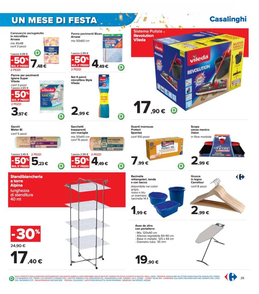Volantino Carrefour 8 ottobre 2021 pagina 25