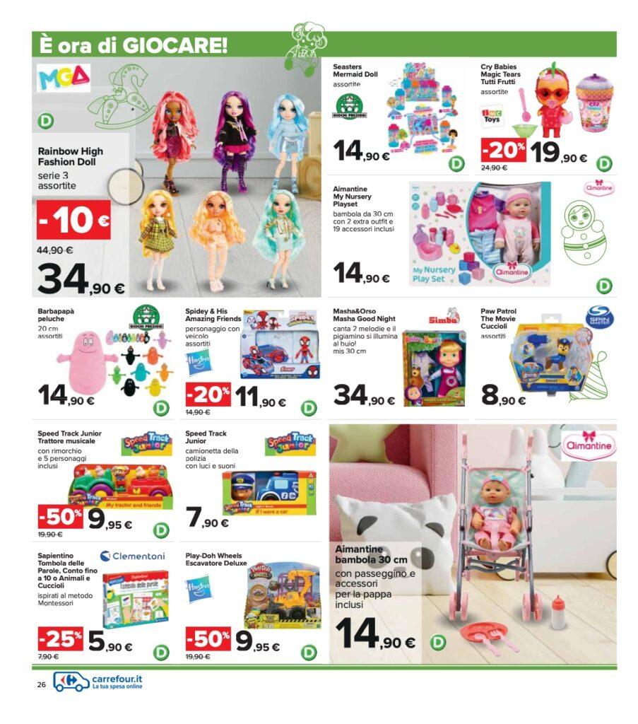 Volantino Carrefour 8 ottobre 2021 pagina 26