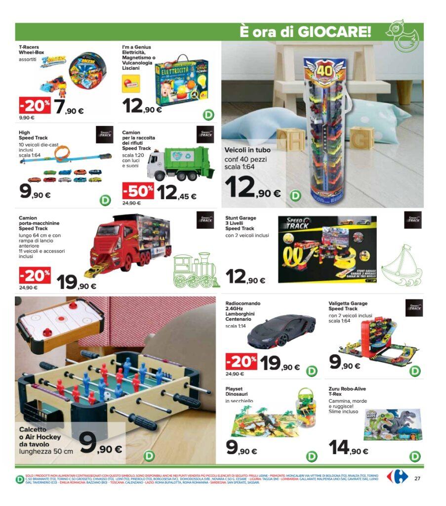 Volantino Carrefour 8 ottobre 2021 pagina 27