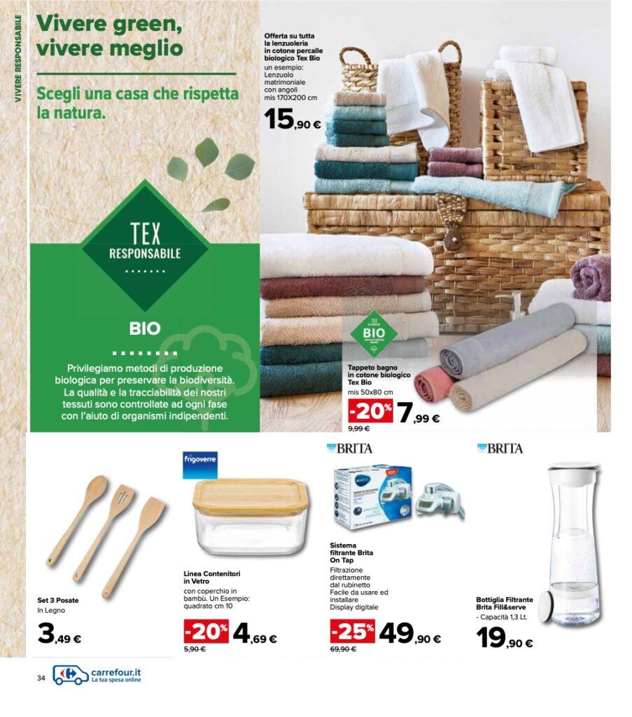 Volantino Carrefour 8 ottobre 2021 pagina 34