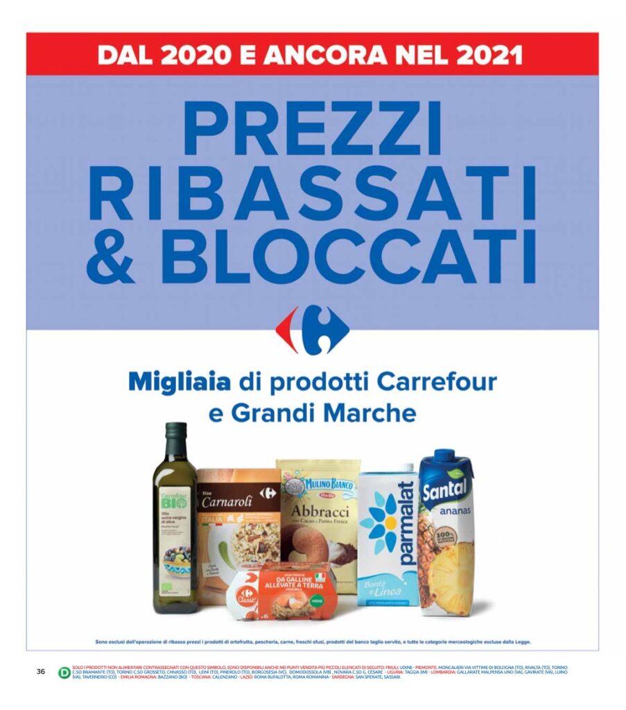 Volantino Carrefour 8 ottobre 2021 pagina 36