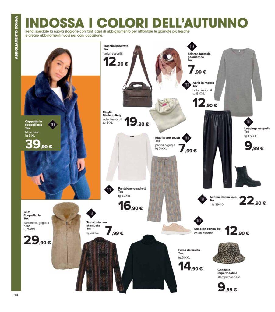 Volantino Carrefour 8 ottobre 2021 pagina 38