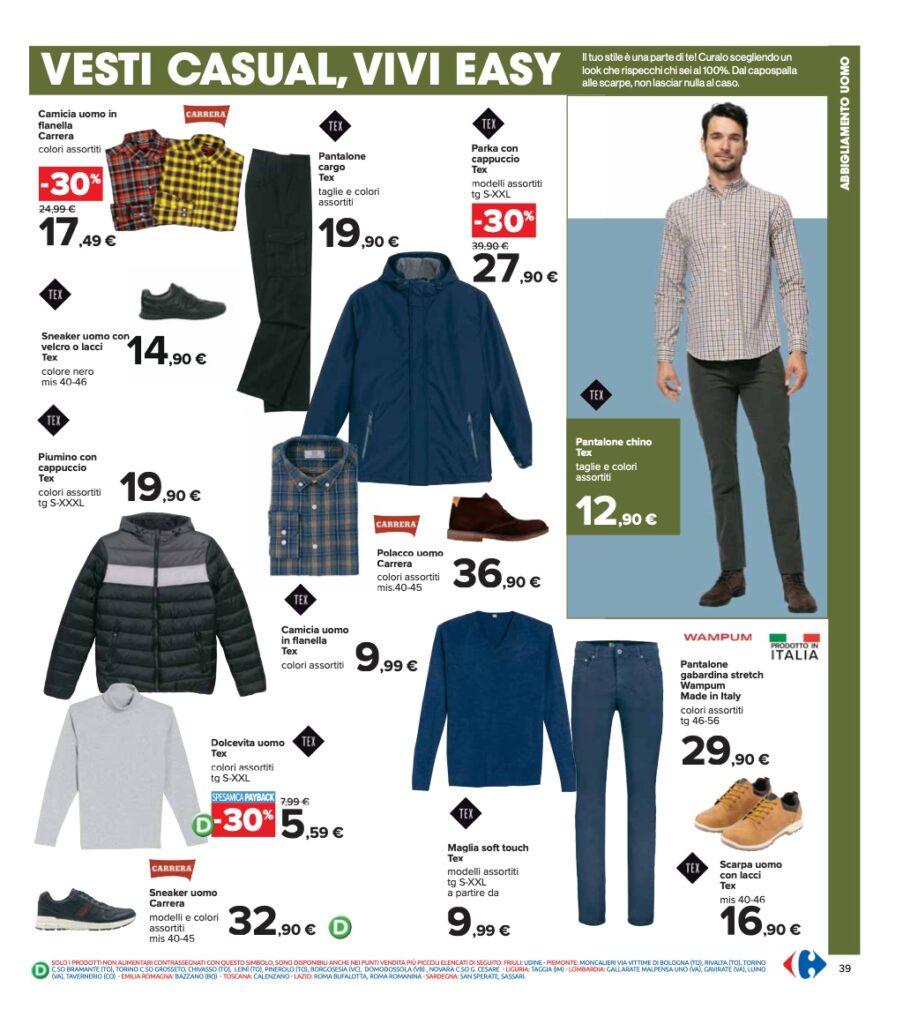 Volantino Carrefour 8 ottobre 2021 pagina 39