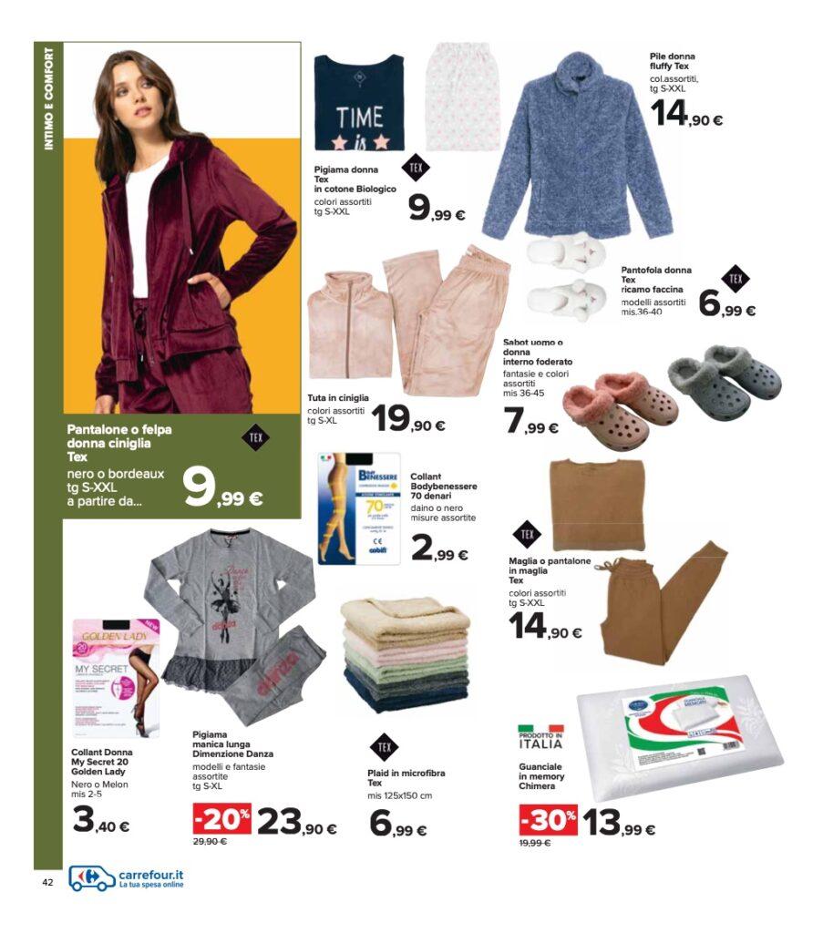Volantino Carrefour 8 ottobre 2021 pagina 42