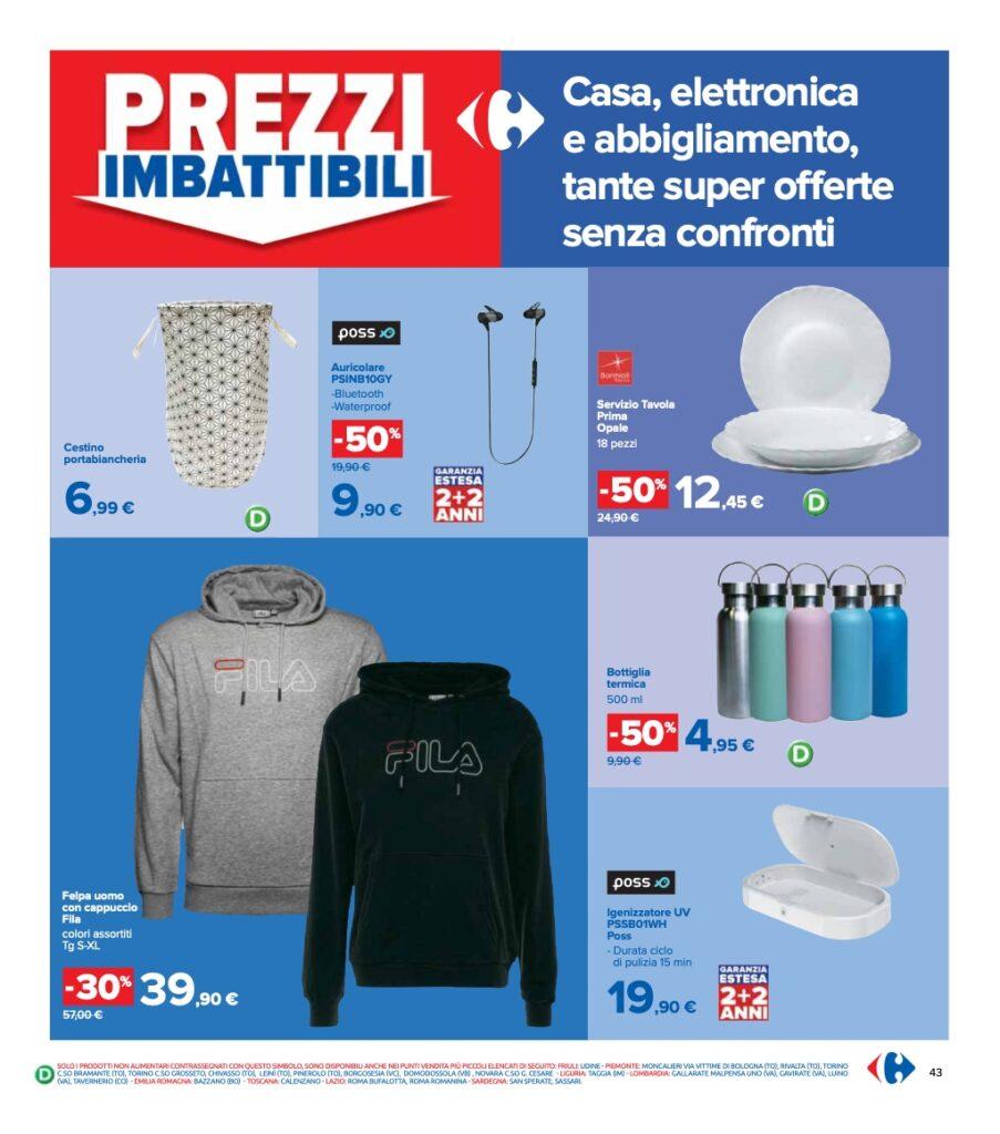 Volantino Carrefour 8 ottobre 2021 pagina 43