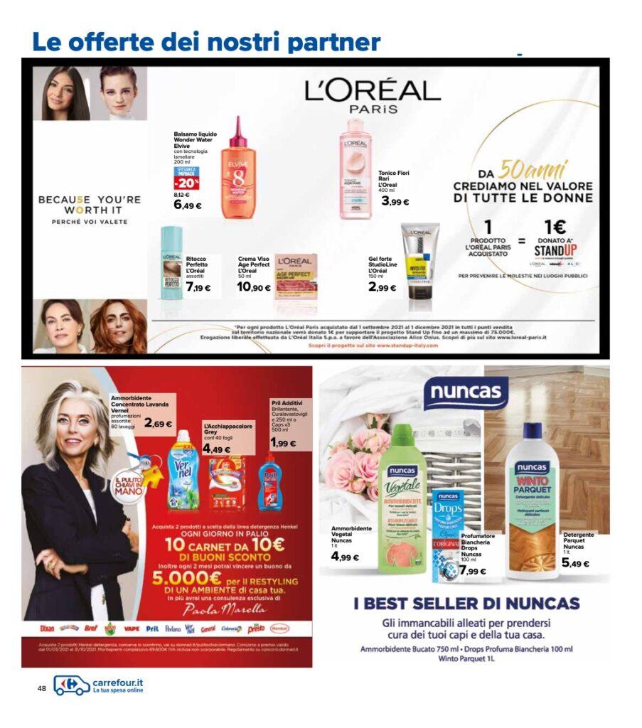 Volantino Carrefour 8 ottobre 2021 pagina 48