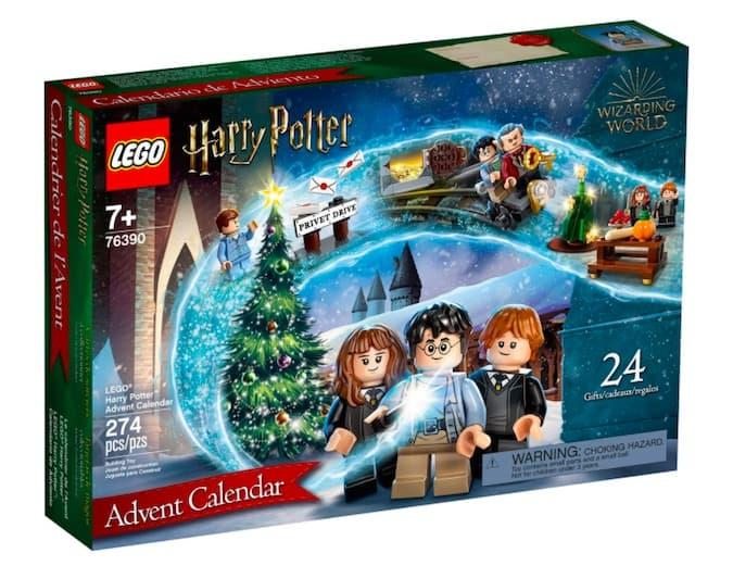 calendario avvento lego 2021 harry potter