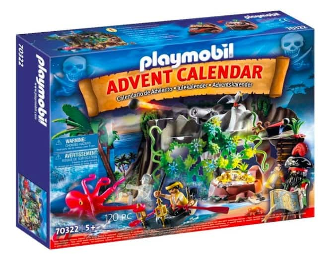 calendario avvento playmobil il covo dei pirati