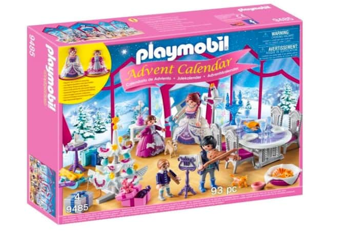 calendario avvento playmobil salone di cristallo