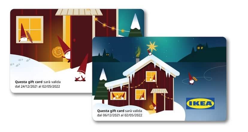 gift card calendario avvento ikea 2021