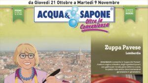 volantino Acqua e Sapone 21 ottobre 2021