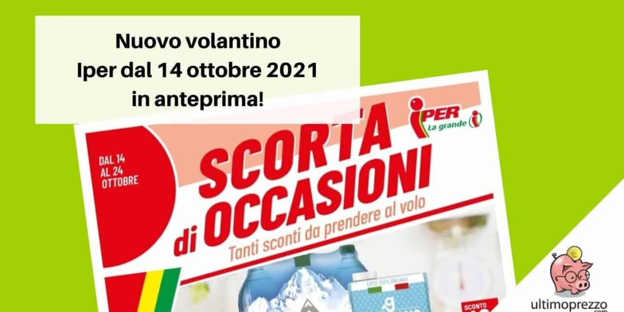 Anteprima volantino Iper dal 14 ottobre 2021: ecco le nuove offerte in arrivo!