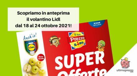 Volantino Lidl dal 18 ottobre 2021: in anteprima le offerte di Halloween